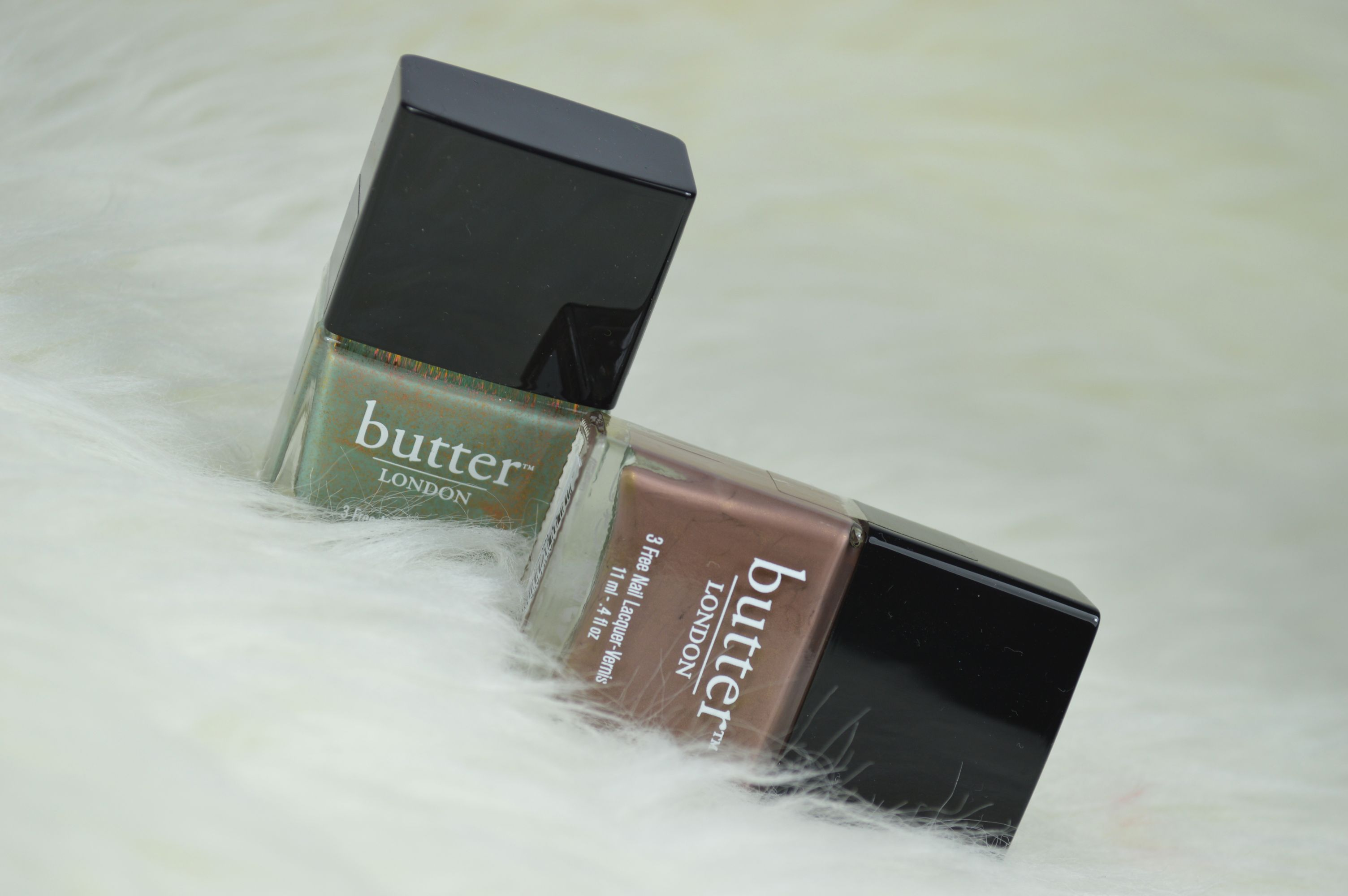 Aufgepinselt: Butter London Two Fingered Salute & Fash Pack