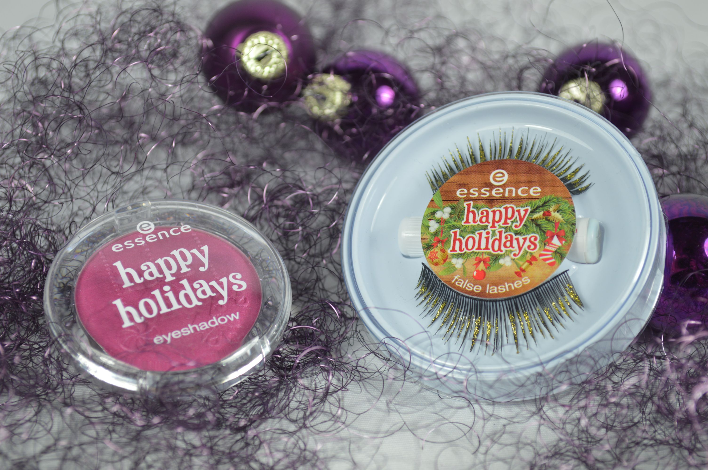 Essence Happy Holidays Lidschatten & Wimpern