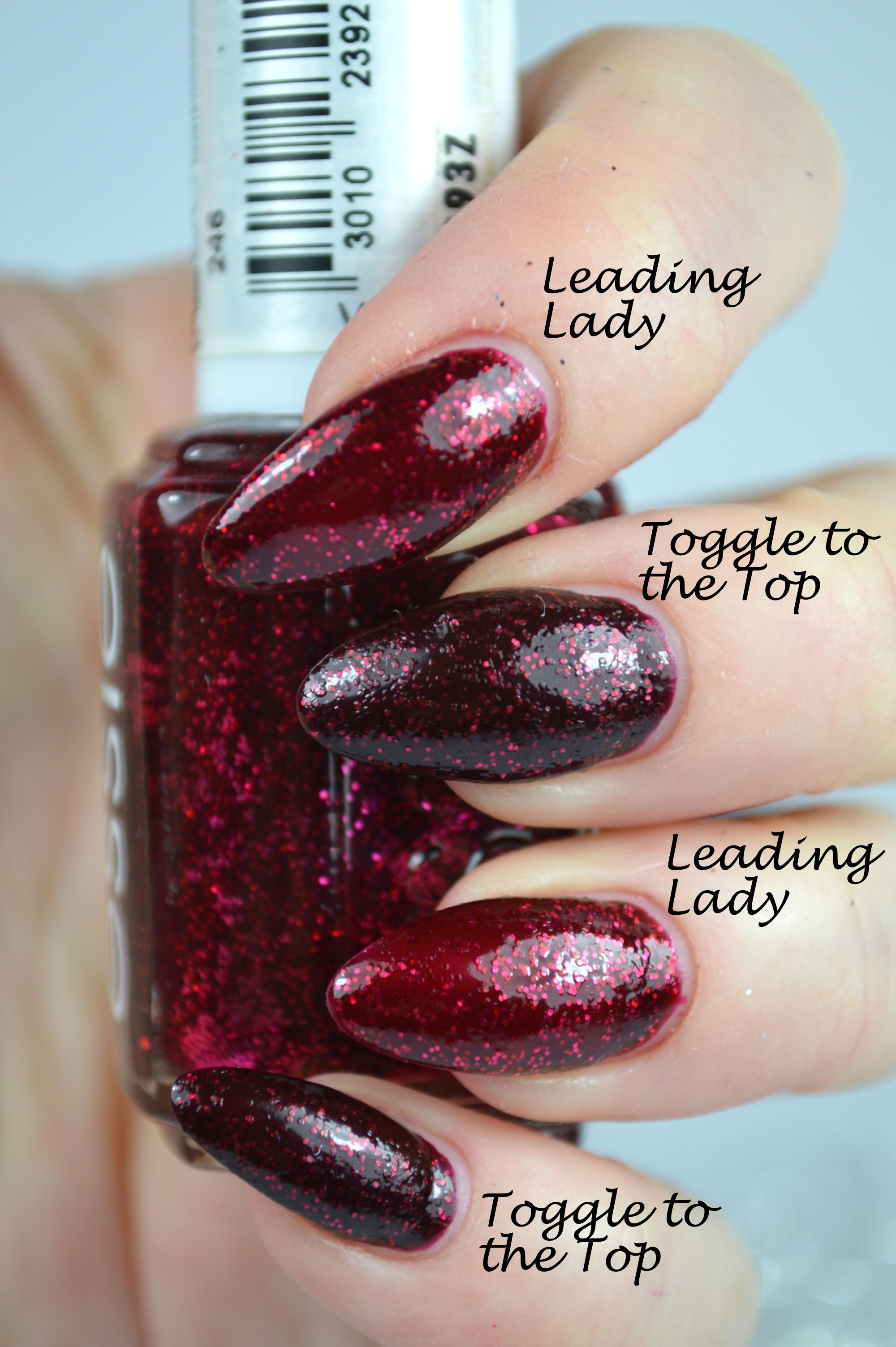 Essie Toggle to the Top Essie Leading Lady Dupe
