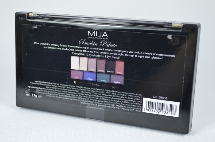 MUA_Smokin_Palette_Review