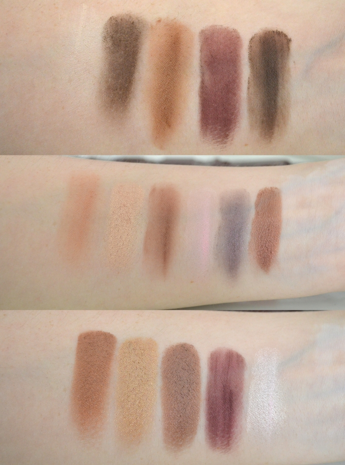 Make_Up_Revolution_I_heart_Chocolate_Palette_Swatches