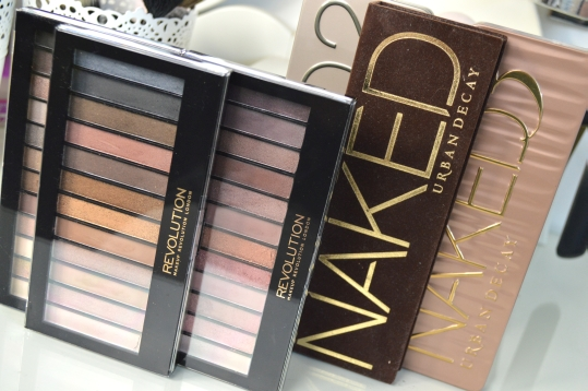 Makeup Revolution Iconic vs. Urban Decay Naked