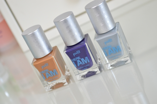 P2 Cosmetics Here I am LE für die Nägel – Review – Swatches