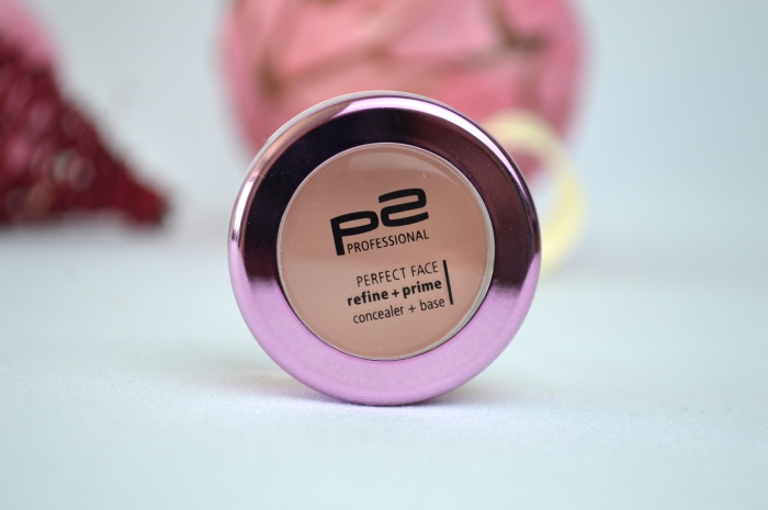 P2 Perfect Face Refine + Prime Concealer + Base