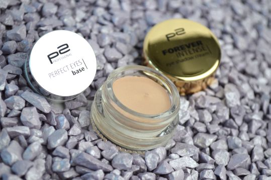 Getestet: P2 Perfect Eyes Base und P2 Forever Intense Eye Shadow Cream