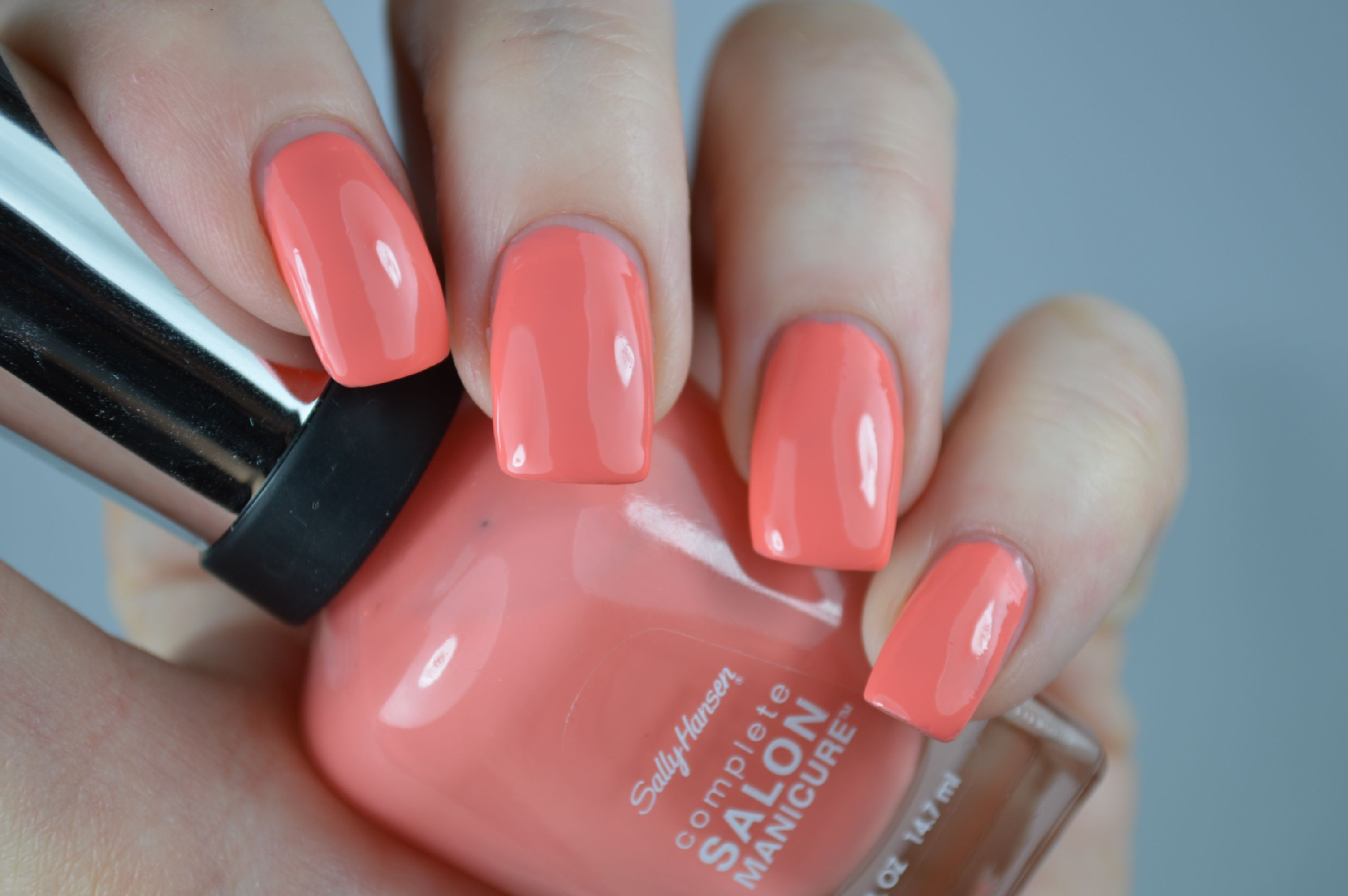 Aufgepinselt: Sally Hansen Peach of Cake
