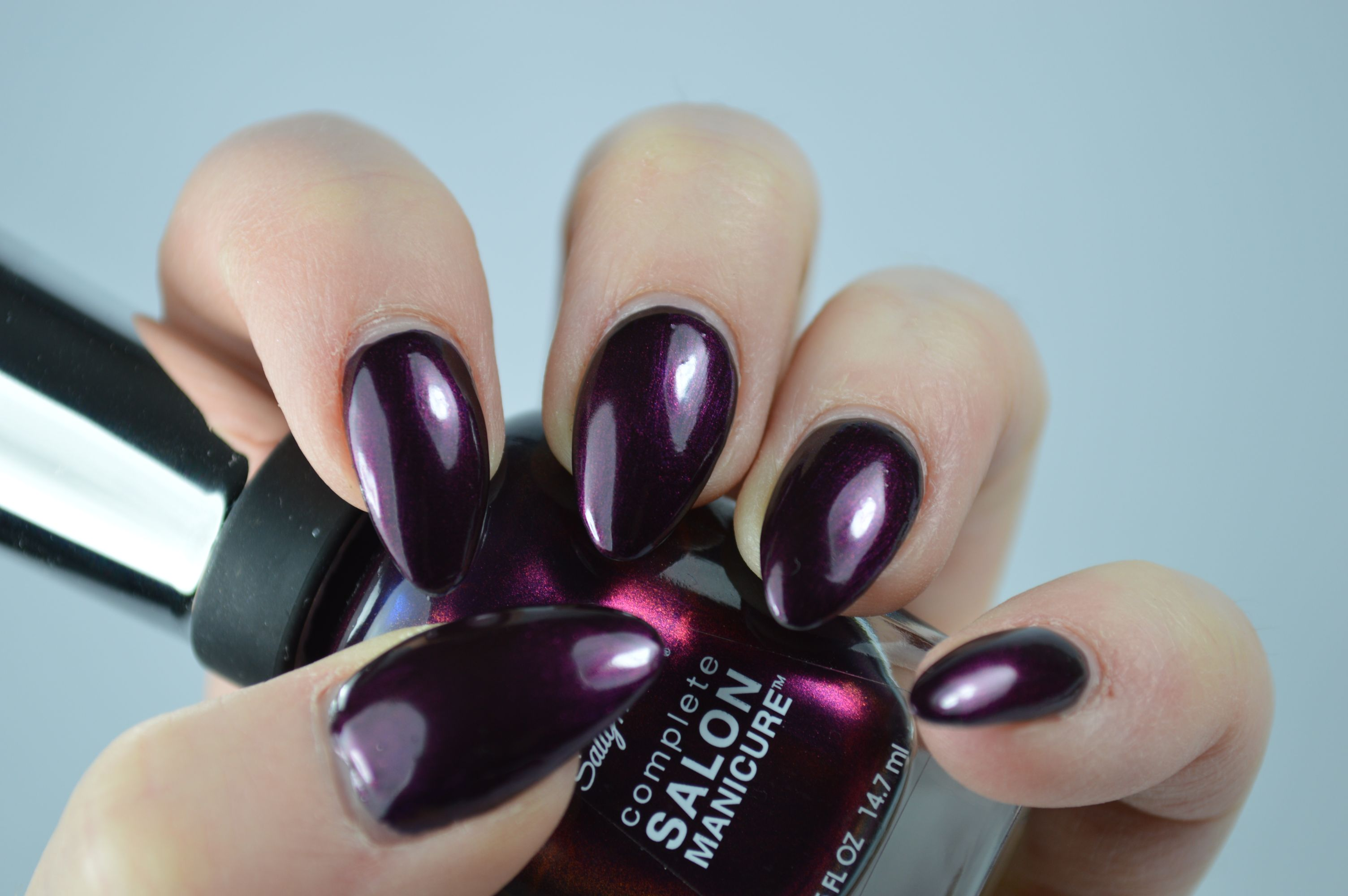 Sally Hansen Belle of the Ball Go Baroque Swatches